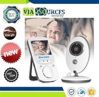 24h Portable Baby Camera Baby Walkie Talkie Babysitter Wireless LCD Audio Video Baby Monitor VB605 Radio Nanny Music Intercom IR