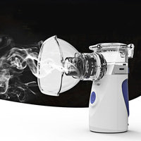Cool Mist Steam Compressor Silent With USB Cable Spa Humidifier Home Device Vaporizer Portable Mini Health Care Facial Steamer