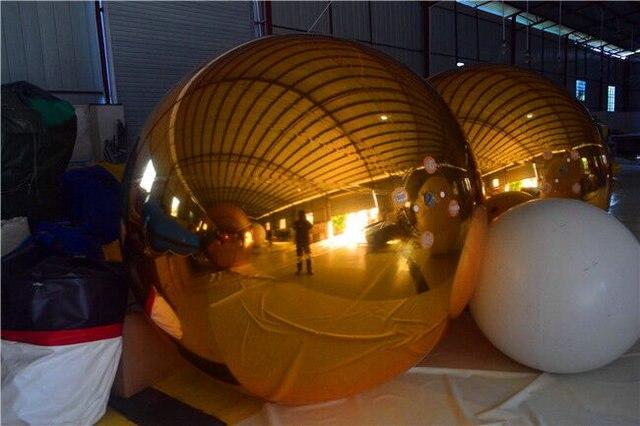 2019 1 meter diameter golden mirror ball Inflatable decorative ball, inflatable decoration, customize2019 1 meter diameter golden mirror ball Inflatable decorative ball, inflatable decoration, customize