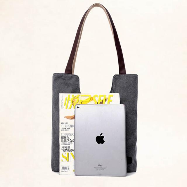 Women's handbags shoulder handbag high quality canvas shoulder bag for women lady bags handbags  famous brands big bag ladies