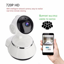 LESHP Wireless Wifi IP Camera Home Security Surveillance Camera 720P HD 3.6mm Lens Wide Angle Indoor Camera Support Night Vision