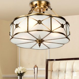 American country rh vintage fans ceiling lights fixture retro european 100 copper ceiling lights fixture vintage ceiling lamps home indoor lighting bed room foyer aloadofball Choice Image