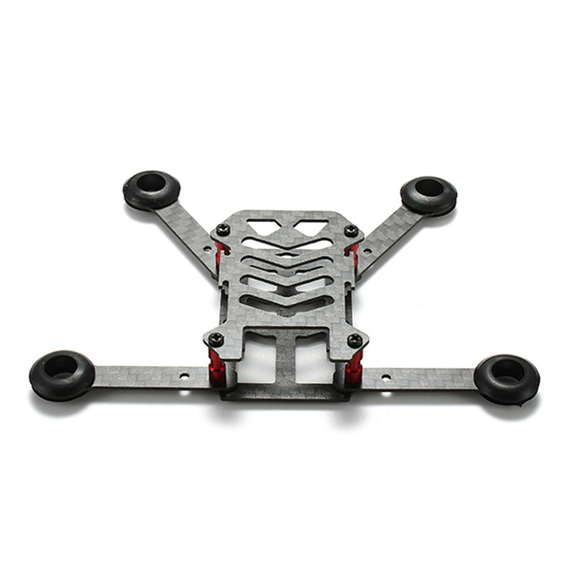 Hot New GM05 120mm Carbon Fiber DIY Micro FPV RC Quadcopter Foldable Frame Kit Support 8.5x20 Coreless Motor diy fpv mini drone qav210 zmr210 race quadcopter full carbon frame kit naze32 emax 2204ii kv2300 motor bl12a esc run with 4s