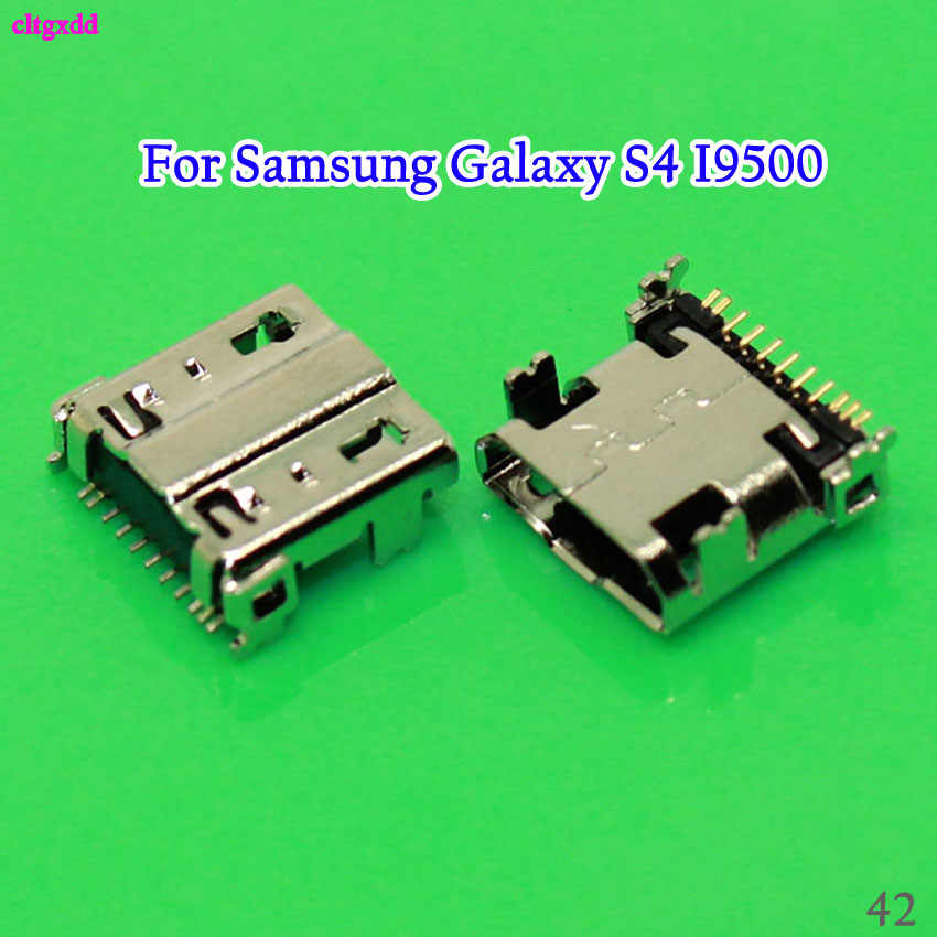 10PCS For Samsung Galaxy S4 I9500 E250S E250K E300S E300L S4 Zoom SM-C101 Micro USB Charging Connector Charge Port Dock Socket