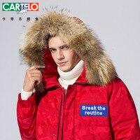 Для мужчин; Длинная Куртка пуховик шляпа съемный мех енота шляпа линии парки вниз пальто для Для мужчин мужской