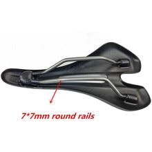 New mtb carbon saddle full leather selle cycling high quality bicycle parts saddle bike road titanium saddle rail
