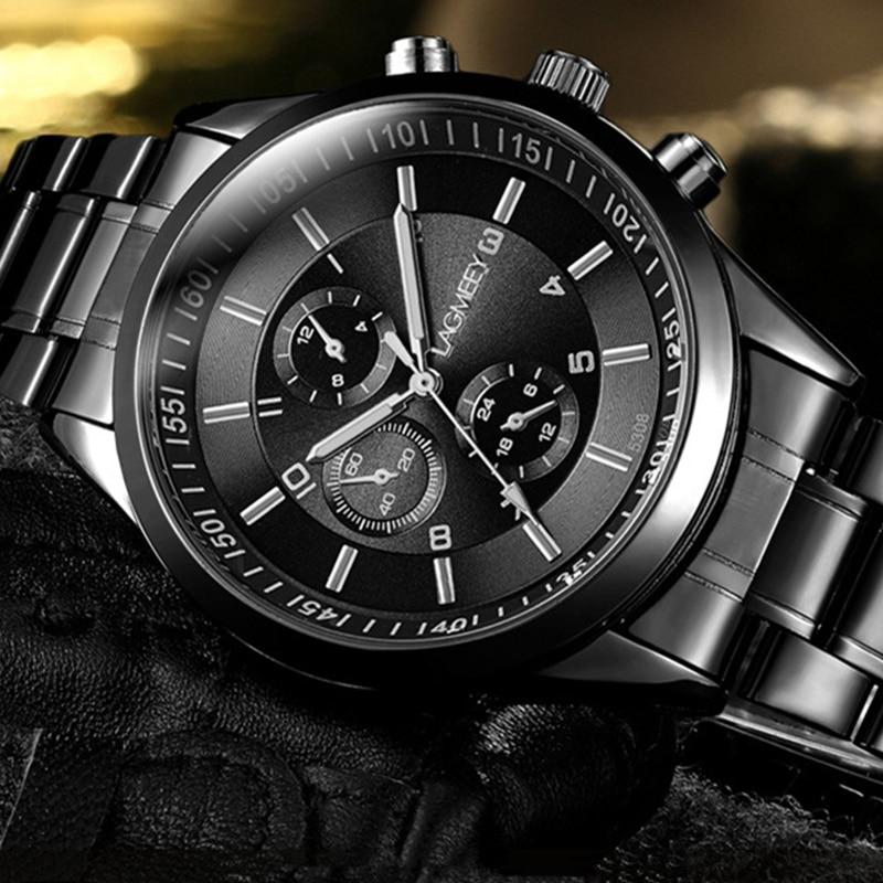 2018 Sport Watch Men Stainless Steel Wrist Watch Men's Watch Fashion Mens Watches Male Clock relogio masculino reloj hombre все цены