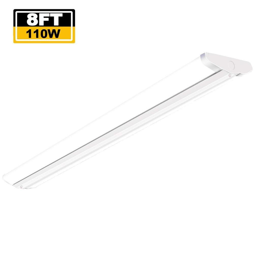 110W Commercial Lighting LED Ultra Slim Garage Lighting Fixture LED 8ft Ceiling Light LED Flush Mount Light for Supermarket Shop