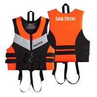 Neoprene Life Jacket Watersports Fishing Kayaking Boating Swimming Safety Life Vest Fishing Kayaking Boating