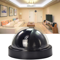 4pcs Dummy Camera Outdoor Indoor Fake Surveillance Camera Dome CCTV Home Security Fake Camera With Flashing