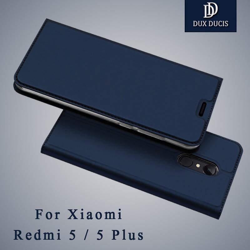 Dux Ducis Cover Xiaomi Redmi 5 Plus Cases Wallet Cover Xiaomi Redmi 5a 5 Pro Flip Leather Case For Xiomi Redmi5 5Plus Phone Case