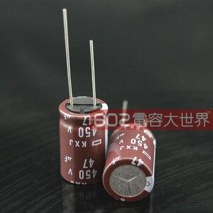 Image 2 - 2020 горячая распродажа 20 шт./50 шт. Япония NCC NIPPON электролитический конденсатор 450v47uf 47 мкФ 450v KXJ Серия 16*25 Бесплатная доставка
