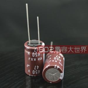 Image 2 - 2020 offre spéciale 20 pièces/50 pièces japon NCC NIPPON condensateur électrolytique 450v47uf 47uf 450v KXJ série 16*25 livraison gratuite