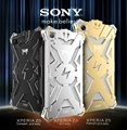 Para Sony Xperia Z1 Z2 Z3 Z4 Z5 Compacto Premium de Metal Simon Marca Thor Série Shell Casos de telefone Caso Da Tampa de Alumínio de Aviação