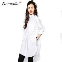 White Shirt Dress Women Boyfriend Style Long Sleeve Dresses Loose Casual Dresses For Women Sexy Loose