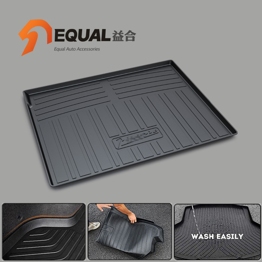 Custom fit car trunk mat for CITROEN DS6 C-ELYSEE C5 C4L C4 5/7SEATS BOOT LINER REAR TRUNK CARGO MAT FLOOR TRAY CARPET MUD COVER