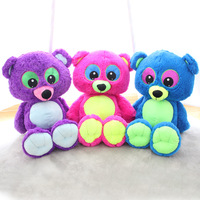 Kawaii Fluorescent Teddy Bear 70cm Small Bears Plush Toys Stuffed Animals Fluffy Bear Dolls Soft Kids Toys Children Gift Peluche