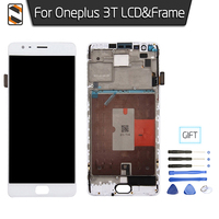 Complete LCD Screen For One Plus Oneplus 3T LCD Display Touch Digitizer Glass Frame Assembly Replacement