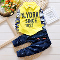 Baby Boy Clothes Set Shirt + Cotton Pants Spring Autumn Infant Baby Boy Clothes Set Boy's clothes Child 2016 New Baby Suit