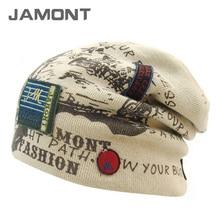 [Jamont] мужские теплые шапки зимние вязаные шерстяные шапочки hat bonnet beanies z-3885