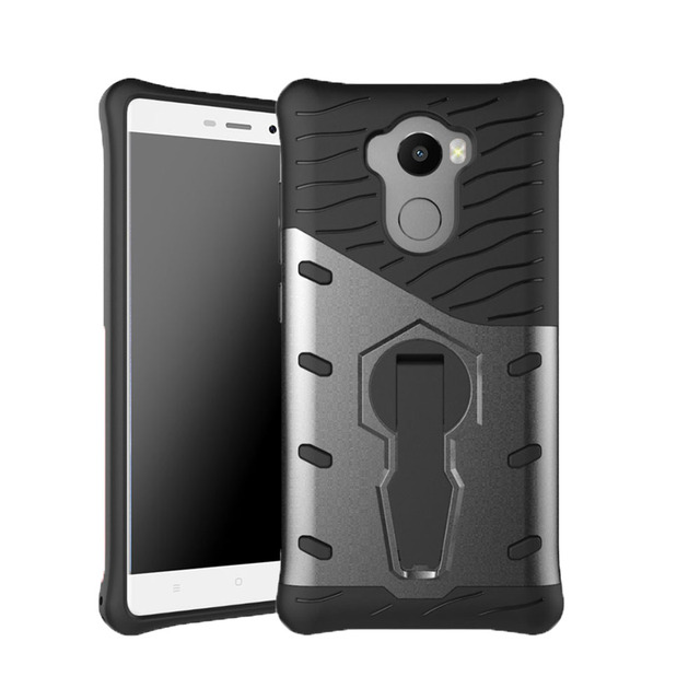 reputable site 4ef8c e5f9b US $2.98 15% OFF|Phone Case For Xiaomi Redmi 4 Pro Cover Luxury 360 Shock  Proof with stand Rubber Cover For Xiaomi Redmi 4 Pro Prime hongmi 4pro-in  ...