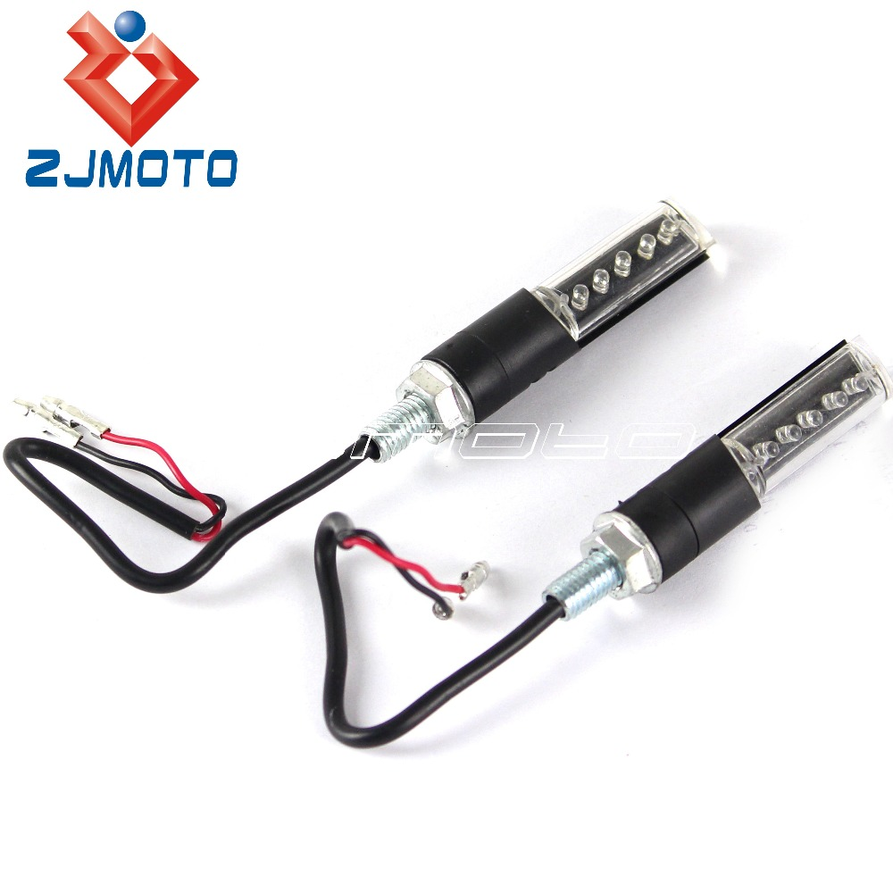 Led Turn Signals Dual Sport Blinkers Motorcycle Dirt Bike Turn