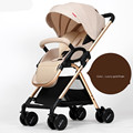 High quality baby stroller portable folding easy baby trolley high landscape shockproof baby cart