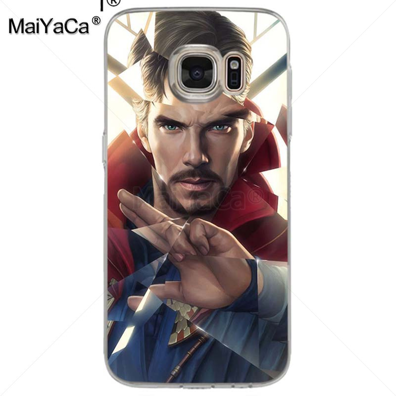 Maiyaca Doctor Strange Dr Marvel Comics Softclassic Phone Accessories Case For Samsung Galaxy S7 S6 Edge Plus S5 S9 S8 Plus Case Cellphones & Telecommunications