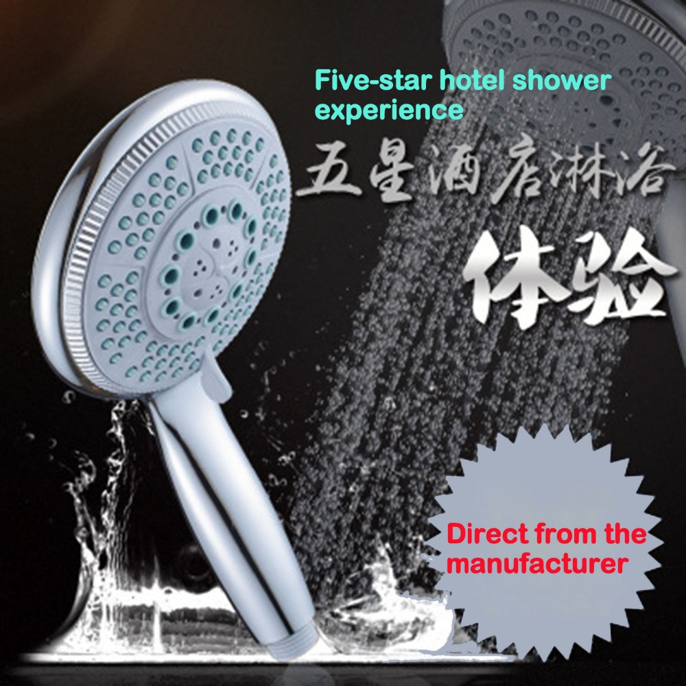 LF86015 120MM Rainfall Shower Heads Shower Hanldest Heads watering shower system nozzle on the shower system