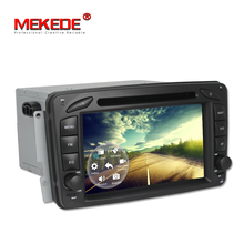 Free shipping! android 7.1 car multimedia system for Mercedes/Benz//W209/W203/W168/M/ML/W163/W463/Viano/W639/Vito/Vaneo