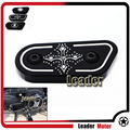 For Harley Sportster Cross  Hearts XL883 XL1200 2004-2012 Motorcycle Accessories CNC Aluminum Inspection Cover Chrome