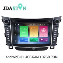 JDASTON 2 DIN Octa Core 4G 32G Android 8 0 Car DVD Player For HYUNDAI i30