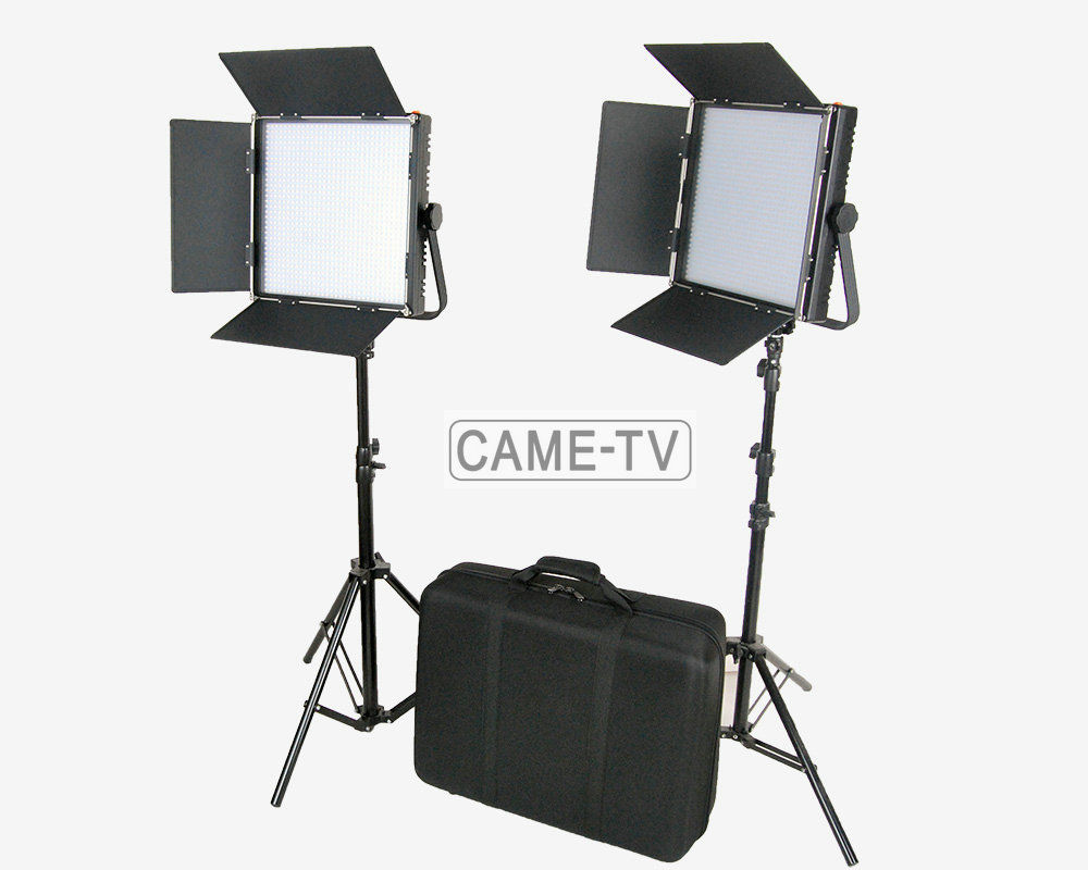 Tv Studio Verlichting Us 978 8 Came Tv Hoge Cri Bi Color 2x1024 Led Video Lichten Studio Tv Verlichting Gratis Tas In Came Tv Hoge Cri Bi Color 2x1024 Led Video Lichten
