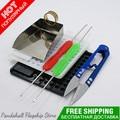 DIY Jewellery tools set and equipment Bead Shovel Bead Counter Scissors Bearded Needles Buckling Ring Tool Assistant