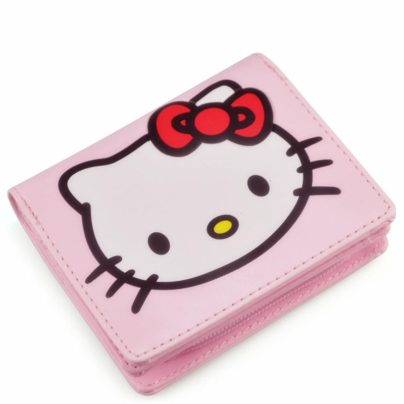 Hello Kitty Wallet Cute Anime Ladies Leather Wallets Womens Wallets and  Purses Carteira Feminina 45 d2cf4a93c1