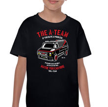 The A-Team Van Kids Funny 80's TV Programme T-Shirt Boys Girls Mr-T New T Shirts Funny Tops Tee free shipping fred van lente brain boy men from g e s t a l t 1 may 2014
