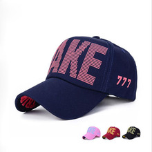 5 Colors ! Women's Hat TAKE 3D Embroidery Baseball Cap Polo Hats Free Shipping