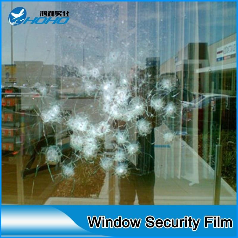 0,5x1 Mt Sicherheit Film Mm Dicke Transparente Sicherheit Glas  Schutztönungsfolie Film Für Auto Fenster