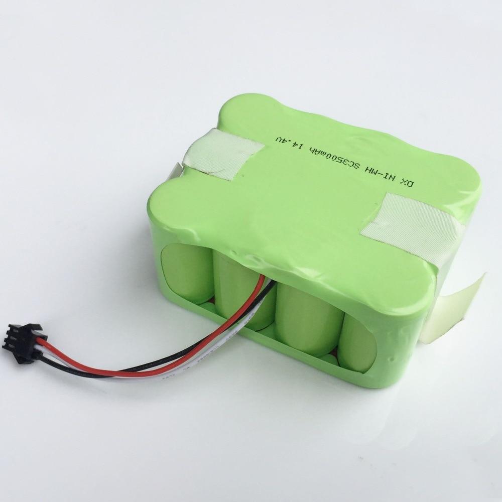 14.4V Ni-MH SC battery pack 3500MAH SM Plug Vacuum Sweeping Cleaner Robot for KV8 XR510 XR210A XR210B XR510A XR510B XR510C 510D цена