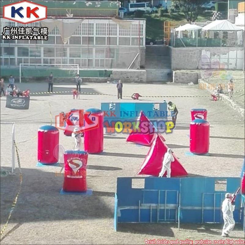 Commerical Sports Equipment CS Laser inflatable paintball bunkers, Laser gun inflatable paintball field for saleCommerical Sports Equipment CS Laser inflatable paintball bunkers, Laser gun inflatable paintball field for sale