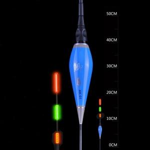 Image 3 - Shallow Water Carp&Crucian Night Fishing Float LED Electric Float Light Fishing Tackle Luminous Electronic Float+CR425 Battery