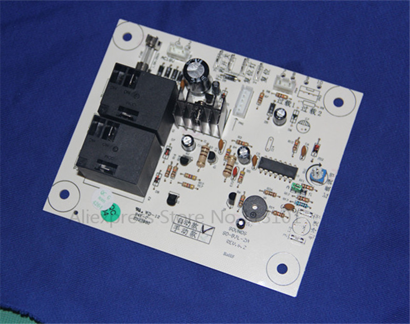 PCB Circuit Board Control Panel for BQL Soft Ice Cream Machine, New Replacement Part