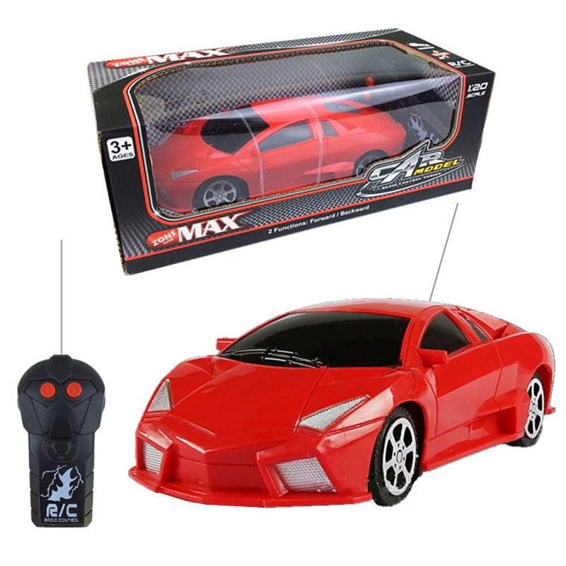 1:20 modelo de coche deportivo coche de control remoto niños toys 2-canales