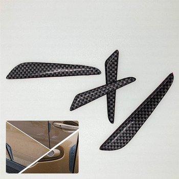 4pcs Car Door Anti-rub sticker Case For Toyota Camry Corolla RAV4 Yaris Highlander Land Cruiser PRADO Vios Vitz Reiz succeed image