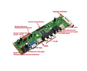Image 3 - V56 Универсальный ЖК контроллер драйвер платы
