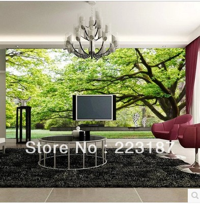 Environmental wallpaper large mural tree living room kid solid adhesive 3D bedroom wall stickers home decor art home sticker dove tree ceiling zenith large mural 3d wallpaper bedroom living room tv backdrop painting three dimensional 3d wallpaper