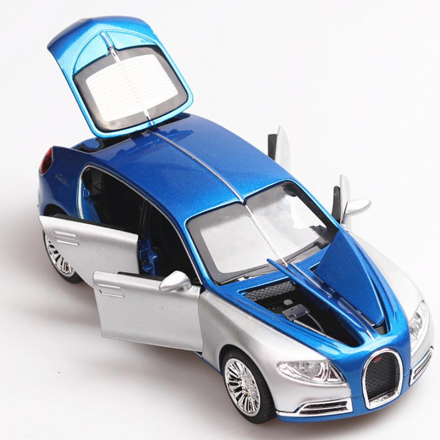 1:32 Toy Car Bugatti Galibier Metal Toy Alloy Car Diecasts & Toy Vehicles Car Model Miniature Scale Model Car Toys For Children