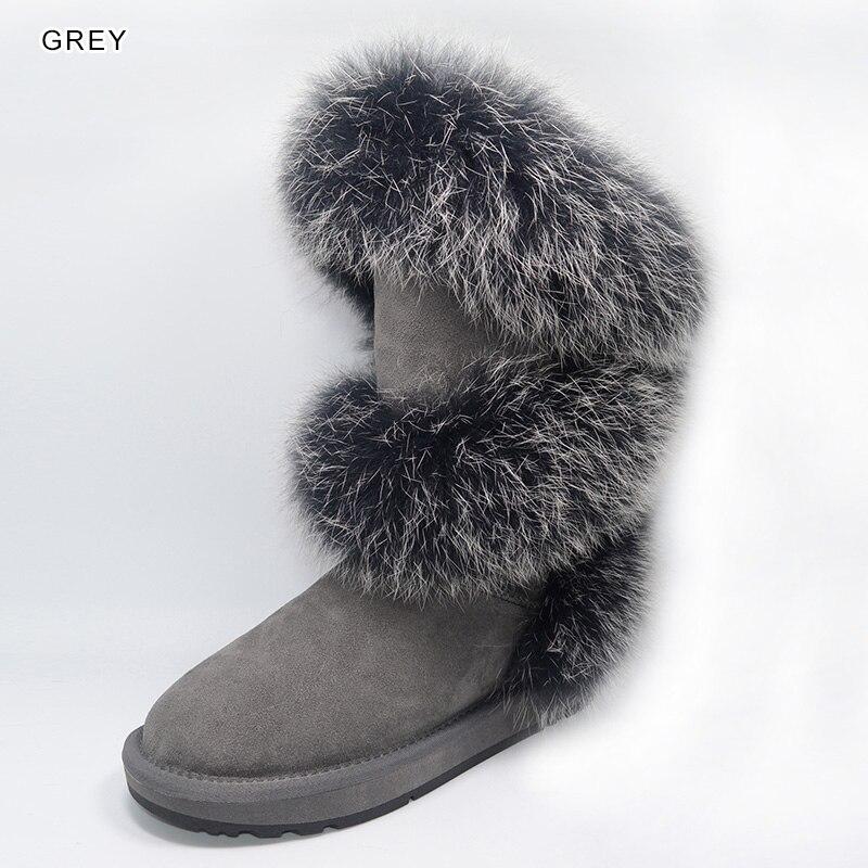 Nuovo stile Nuovo Inverno Neve Stivali di Pelliccia di
