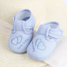 Casual Newborn Baby Girls Sneakers Bow Non-slip Crib Shoes Soft Sole Prewalker 4-12M(China)