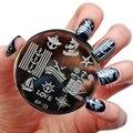 BORN PRETTY Sailors & Sea Sailing Theme Nail Art Stamp Template Image Plate BP33 Nail Stamping Plates Set